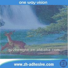 One Way Vision Self Adhesive Printable Film for Car Window Film