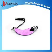 Mini Metal metallic Stylus Touch Screen Pen w/dust plug,ipad,smart/iphone, etc. - LY-S04