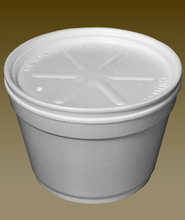 EPS container with inner lid