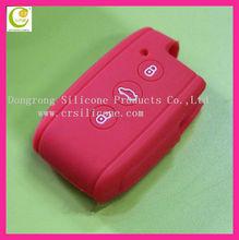 Hot fashion good selling silicone rubber remote key case key shell for mitsubishi/ford/buick/vw/toyoda/kia/nissian/audi