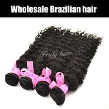 Deep curl, Different types Brazilian human hair extension