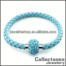 perle di magia in vendita braccialetto magnetico cinturino in pelle bracciali con borchie