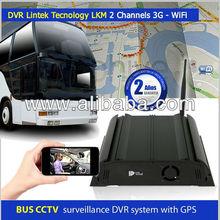 Seguridad para autobuses, DVR buses, CCTV para autobuses