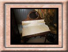 Dresser table antique furniture