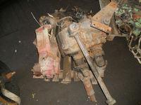 ZF transfer gearbox