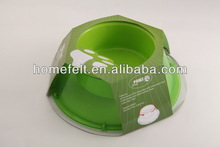 High quality dog bowl with single handle grip