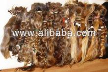 100% russian raw humain hair