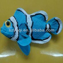 cute cartoon fish shape fridge magnet for tourist