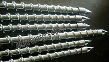 Single screw and barrel for injection moulding machine( can according to customer demands for making)