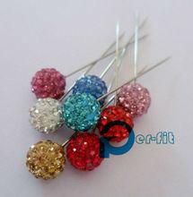 scarf pin shawl brooch crystal hijab stick pin fixed safety pin