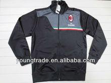 AC milan soccer jacket grey 13-14 grade original Top Grade thailand quality