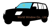 Toyota Kluger V replacement front windshield MCU2#,ACU2#