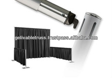 telescopic Aluminum stand for Drapes, Fabrics & Backdrops