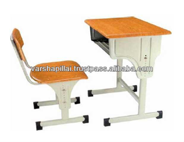 School Furniture Supply,Single School Desk And Chair,School Furniture Adjustable Desk and Chair