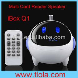 Bluetooth SD Card Reader Mini Portable Speaker Q1
