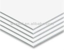 Kapa mount foam centred board white,picture mounting foam board