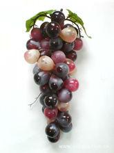 Oem& odm simulado uvas de ferro forjado decorativo de cristal uva uva cluster