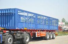 professional 3 axle 50t cargo transport semi trailer