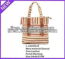 2013 women canvas handbags digital printed canvas bag