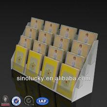 Four-tier Acrylic Greeting Card Display Rack