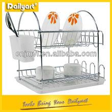2 tier luxury wire basket shelf kitchen