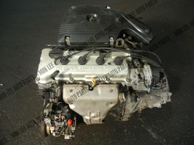 JDM USED ENGINE WITH GEARBOX FOR CAR MODEL NISSAN GA15 GA15DE GA16 ...