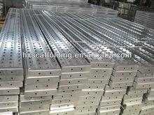 aluminium scaffold plank deck metal planks