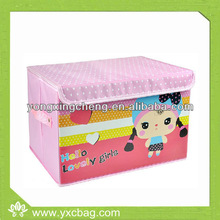 Nonwoven Storage Boxes With Cardboard