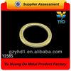 round gate ring/ hot sale bag O-ring/ metal D-ring
