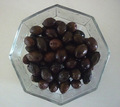 Aceitunas negras en salmuera o fresca aceitunas verdes