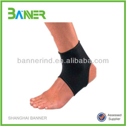 Polyester knitting Ankle guard padded