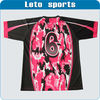 custom raglan sublimation transfer t shirt design