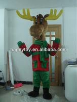 HI EN71 Adult Christmas Deer Cartoon Suit