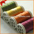 Artesanía de alta calidad de color de alambre de cobre/collar de alambre que hace