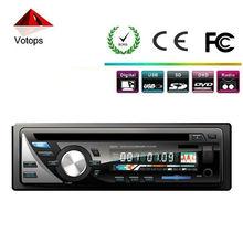 one din car dvd/cd with USB,SD,MP3/MP4,FM,AUX IN