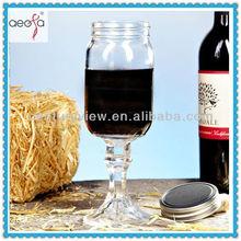 12oz 16oz Wintage Redneck Mason Wine Glass