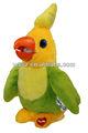 Parlando giocattolo pappagallo per bambini regalo promozionale, bambini giocattolo