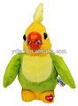 Giocattoli parlanti pappagallo per bambini regalo promozionale, bambini giocattolo