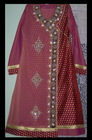 Latest Angrakha Party Dress - Handwork Party Suit 2013