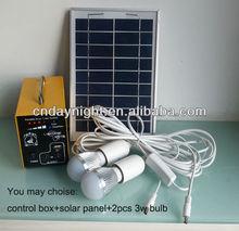 Portable Solar Lighting kit DN1301 5W