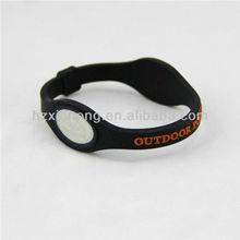 Hot sale newest silicone bracelet custom energy