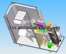 Hiseer air source heat pump cool (Hitachi,Daikin,Siemens, SWEP,GEA,Schneider,Emerson,Honeywell,Saginomiya parts)