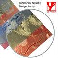Guangzhou papel especial/cubierta de color personalizado y el tamaño y acabado en relieve tarjeta de invitación