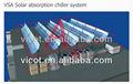 solar de refrigeración y calefacción