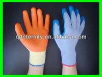 Skillful manufacture latex coated glove,work glove(good)