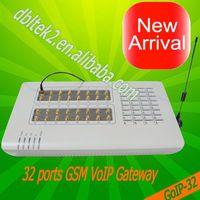 32 sim voip gsm gateway goip32 voip video phone