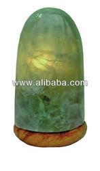 Green Calcite lamp