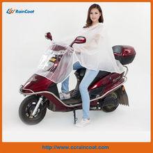 PVC autobike/motor cycle/motorbike rain poncho