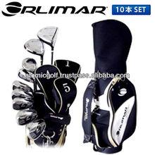 [golf club full set]ORLIMAR golf OR900 club set 10p (1W,4W,U5,#6-PW,SW,PT) with caddy bag