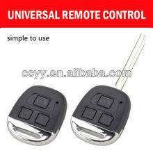 3 Button Car Blank Key, Car Remote Control Case CY-021B